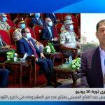 السيسي يفتتح عددا من المشروعات في ذكرى ثورة 30 يونيو
