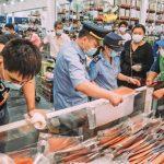 آثار كثيفة لفيروس كورونا في مأكولات بسوق في بكين