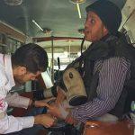 إصابة 5 فلسطينيين برصاص الاحتلال خلال مسيرة ضد الاستيطان
