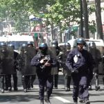 الشرطة الفرنسية تفرق حشدا أحيا ذكرى رجل أسود قُتل عام 2016