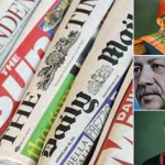 نافذة على الصحافة العالمية: السلطان العدواني يتحدى أوروبا