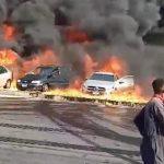 الصحة المصرية تصدر بيانًا بشأن حريق القاهرة – الإسماعيلية
