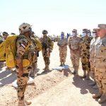 رئيس الأركان المصري يشهد إجراءات الاصطفاف والاستعداد القتالى على الاتجاه الاستراتيجى الغربى
