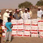 قوافل إغاثة إماراتية إلى أهالي الساحل الغربي في اليمن
