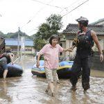 اليابان: 10 آلاف جندي في مهمة إغاثية بعد أمطار غير مسبوقة