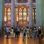 كنيسة العائلة المقدسة ببرشلونة تفتح أبوابها للعاملين في مواجهة كورونا