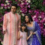 النجمة الهندية آيشواريا راي وابنتها في المستشفى بسبب كورونا