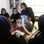 أفغانيات يصممن جهازا رخيصا للتنفس لمرضى كورونا