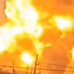 لقطات أولية من انفجار «قاعدة الصقر» جنوبي بغداد