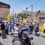 إصابات خلال مواجهات بين الفلسطينيين وقوات الاحتلال في قلقيلية