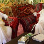 في خيمة القذافي.. تسريب يكشف مؤامرة قطرية لتقسيم السعودية
