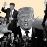 ترامب يختطف السياسة الخارجية الأمريكية أثناء محاكمته النيابية