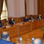 شكري يحث قيادات وزارة الخارجية بالدفاع عن المصالح المصرية