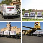 إرسال ثاني طائرات المساعدات المصرية إلى لبنان