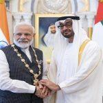 ولي عهد أبو ظبي يعزي رئيس وزراء الهند وأسر ضحايا الطائرة المنكوبة