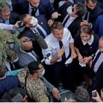 بعد تعبير ماكرون عن«شعوره بالخجل» منهم .. اللبنانيون محبطون من قادتهم