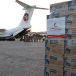 40 طن مواد إغاثية مساعدات إماراتية جديدة لبيروت