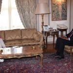 شكري وستيفاني ويليامز يبحثان التسوية السياسية في ليبيا