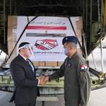 وصول أولى طائرات الجسر الجوي المصري إلى بيروت