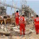 انتشال جثتين وأشلاء ثالثة من تحت أنقاض انفجار بيروت