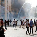 بعد مواجهات.. قوى الأمن اللبنانية تطالب المتظاهرين بضبط النفس