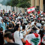 بيروت تحيي ذكري مرور أسبوع على الانفجار المروع بالدموع وتلاوة أسماء الضحايا