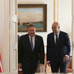 وزيرا خارجية اليونان وأمريكا يبحثان التوتر في شرق المتوسط