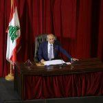 بري يدعو للإسراع بتشكيل حكومة لبنانية جديدة