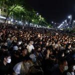 مظاهرة حاشدة في تايلاند للضغط على الحكومة