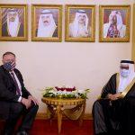 بومبيو يبحث الاستقرار الإقليمي مع ولي عهد البحرين