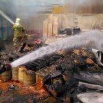 حريق في منطقة صناعية بإيران ولا خسائر بشرية