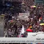 فيديو| مسيرة حاشدة في ألمانيا تطالب بإنهاء إجراءات الإغلاق