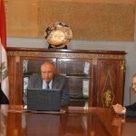 شكري يجدد تأكيد مصر على التضامن مع الشعب اللبناني