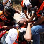 إصابة عشرات الفلسطينيين في مواجهات مع الاحتلال في بلدة ترمسعيا برام الله