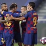 برشلونة يتوصل لاتفاق