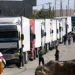 الأردن يستأنف حركة النقل البري مع سوريا