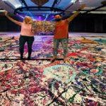فنان بريطاني يعتزم إنجاز أكبر لوحة على القماش في دبي