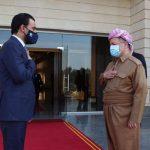 أهداف لقاء رئيس البرلمان العراقي مع بارزاني في أربيل