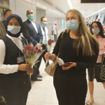 وصول أولى رحلات شركة إيزى جت البريطانية إلى مطار الغردقة الدولي