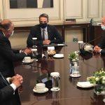 خلال زيارته لأثينا.. وزير الخارجية المصري يلتقي برئيس وزراء اليونان