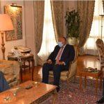 سامح شكري: موقف مصر ثابت من دعم أمن واستقرار لبنان