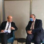 مصر وفرنسا تطالبان بوقف التدخلات المزعزعة للاستقرار في ليبيا