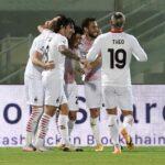 ميلان يفوز على كروتوني بهدفين دون رد في الدوري الإيطالي