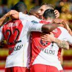 موناكو المنقوص يفوز على ستراسبورج بالدوري الفرنسي