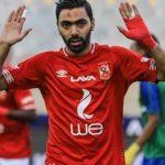 الشحات لاعب الأهلي المصري يغيب عشرة أيام بسبب الإصابة