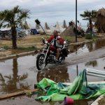 ثلاثة قتلى بعد اجتياح عاصفة متوسطية نادرة لليونان