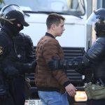 شرطة روسيا البيضاء تعتقل 10 محتجين على الأقل في مينسك