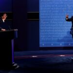 «الفوضى».. العنوان الرئيسي لأول مناظرة رئاسية بين ترامب وبايدن