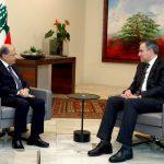 أديب يلتقي عون لبحث أزمة تشكيل الحكومة اللبنانية