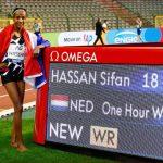 الهولندية سيفان حسن تحطم الرقم القياسي العالمي لسباق الساعة الواحدة